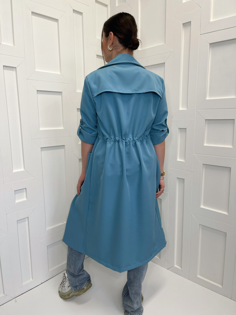 Fayen Trenchcoat Blue