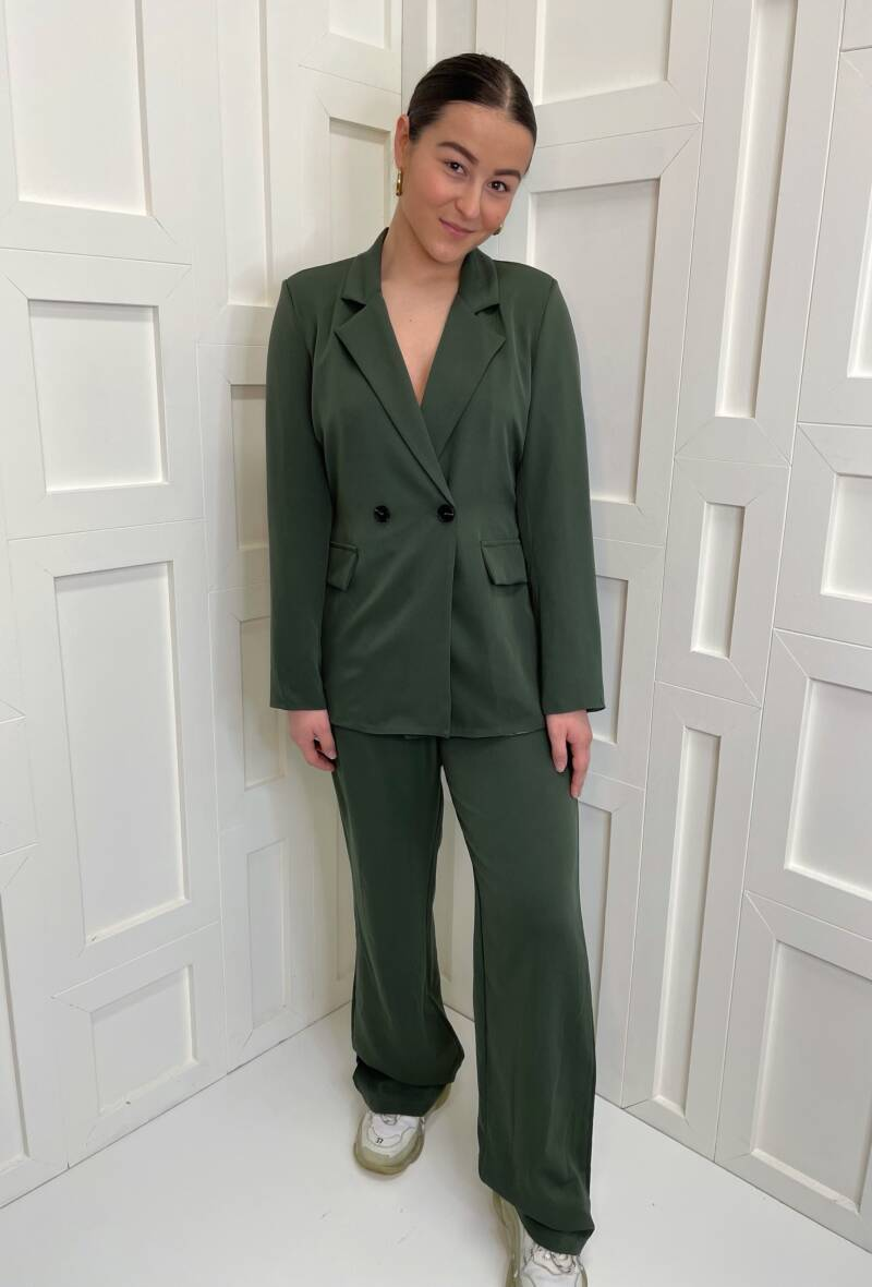 Selma Suit Army Green