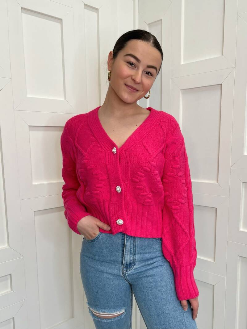 Pretty In Pink Knit