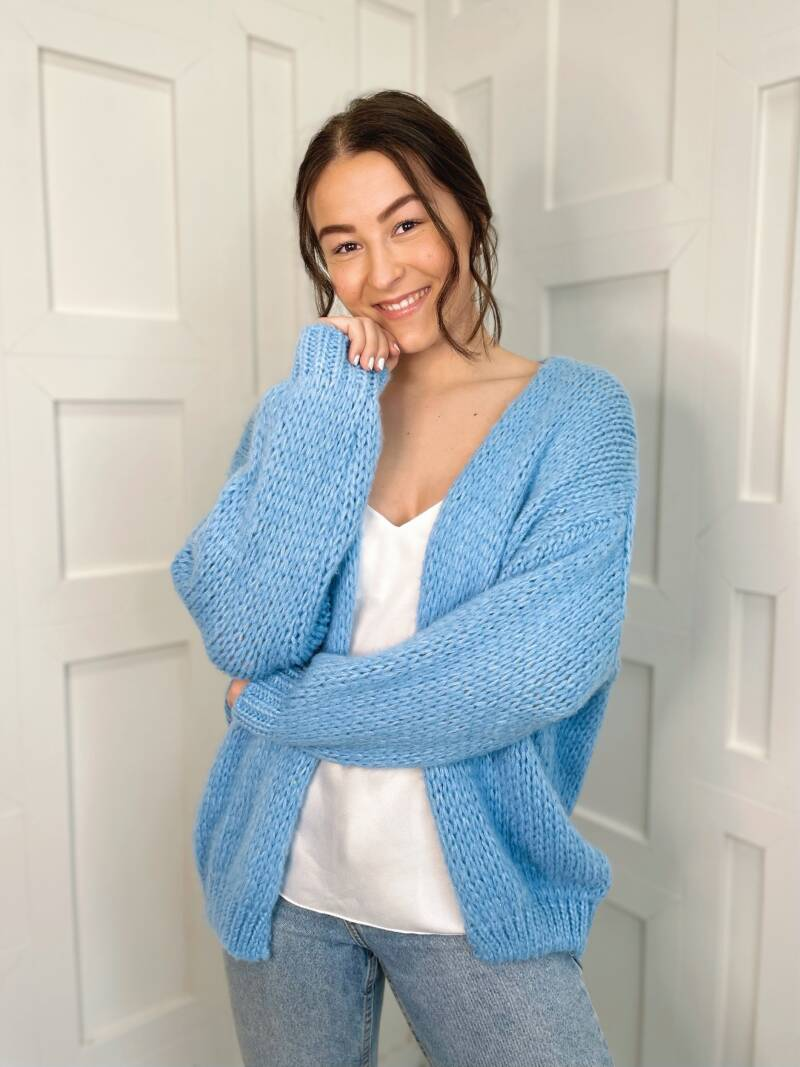 Likeable Knit Baby Blue