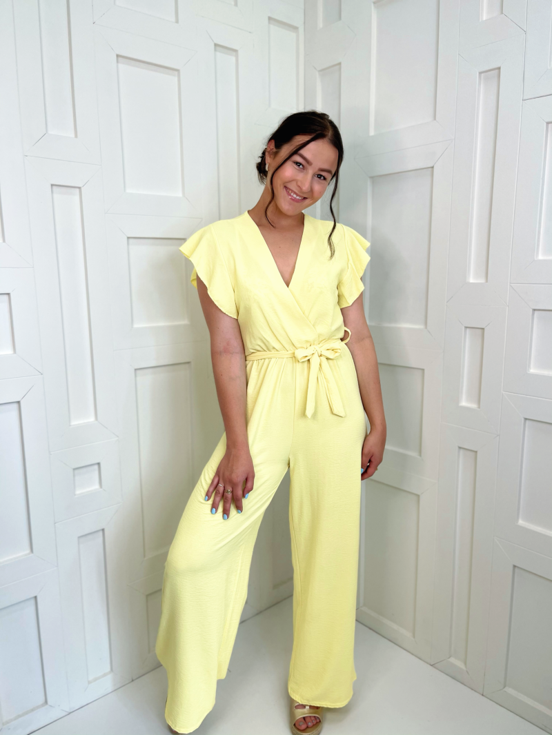 Likeable Jumpsuit Yellow
