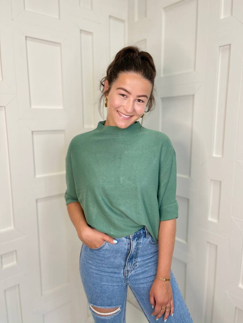 Perfect Basic Top Green