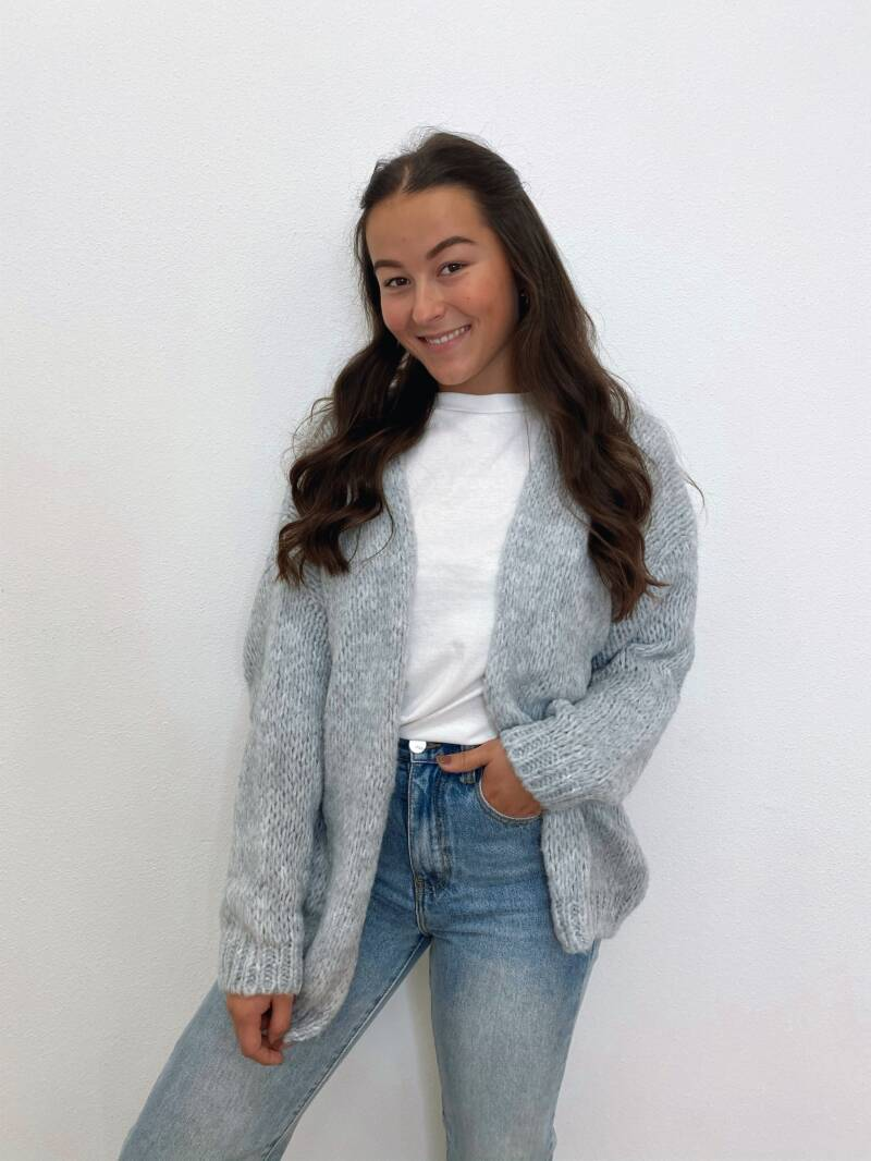 Colourful Knit Grey