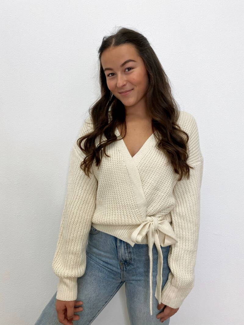 Cute Beige Knit