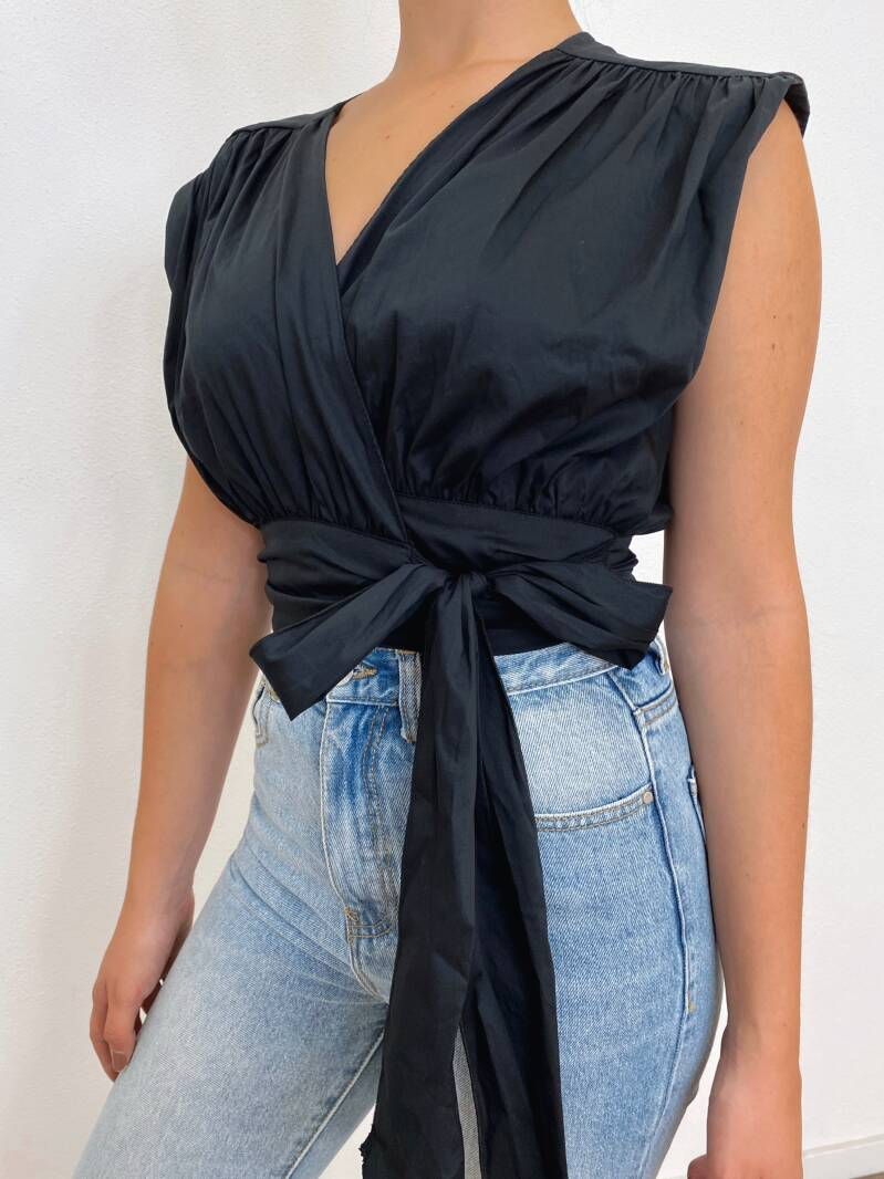Wanted Blouse Black