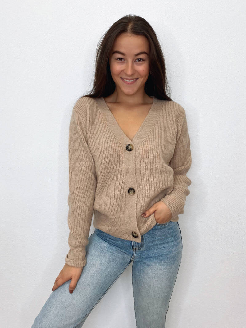 Lovely Knit Taupe