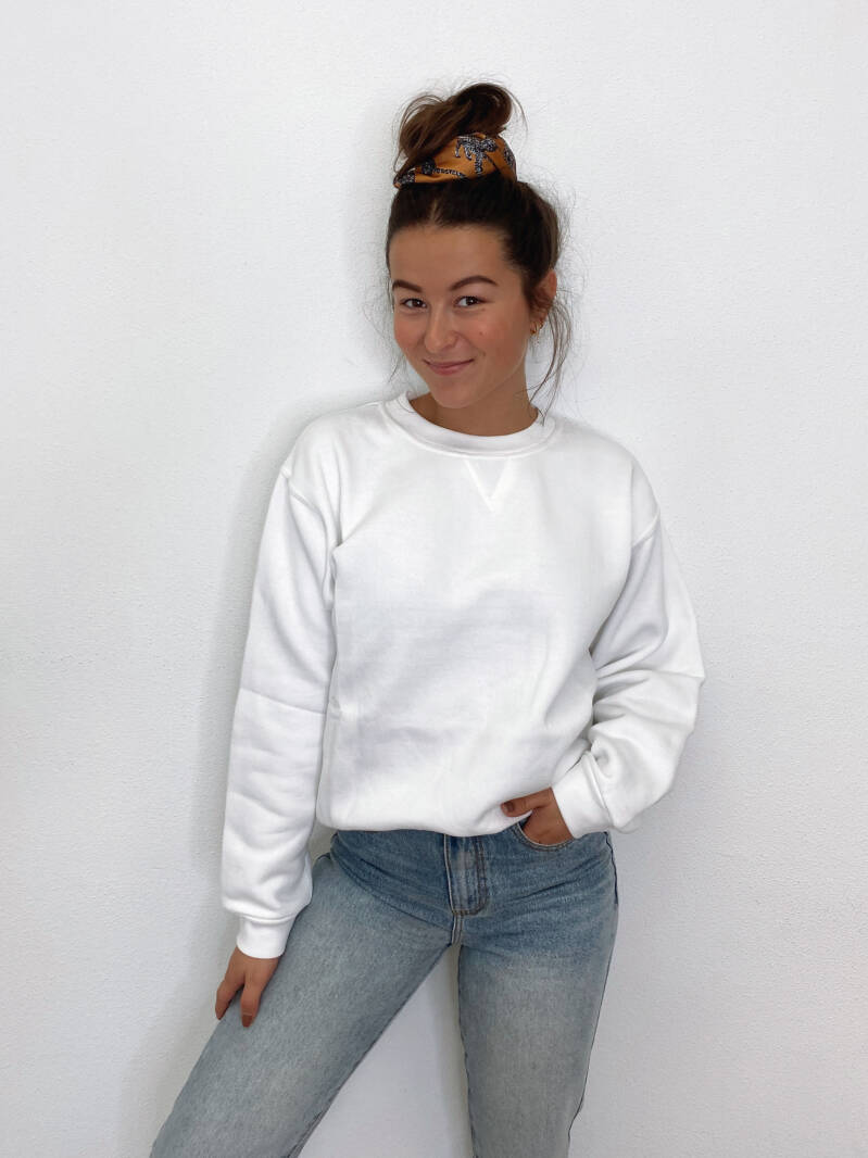 Basic Sweater White