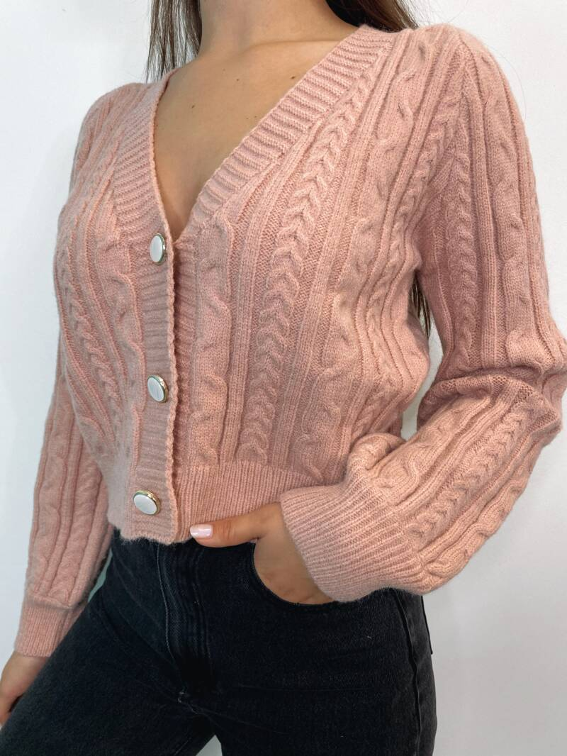 Lizzy Knit Soft Pink