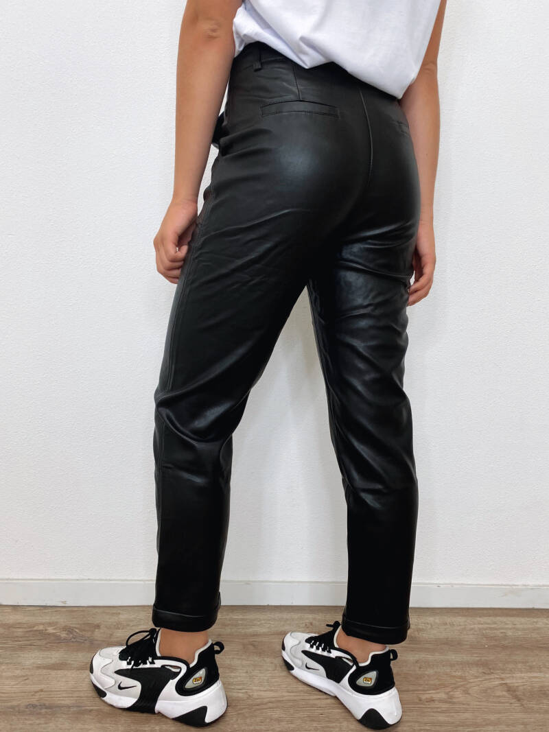 Baggy Leather Pants