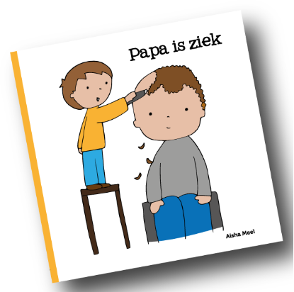 Prentenboek 'Papa is ziek'