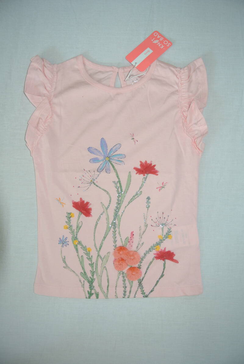 Knot so bad t-shirt bloemen