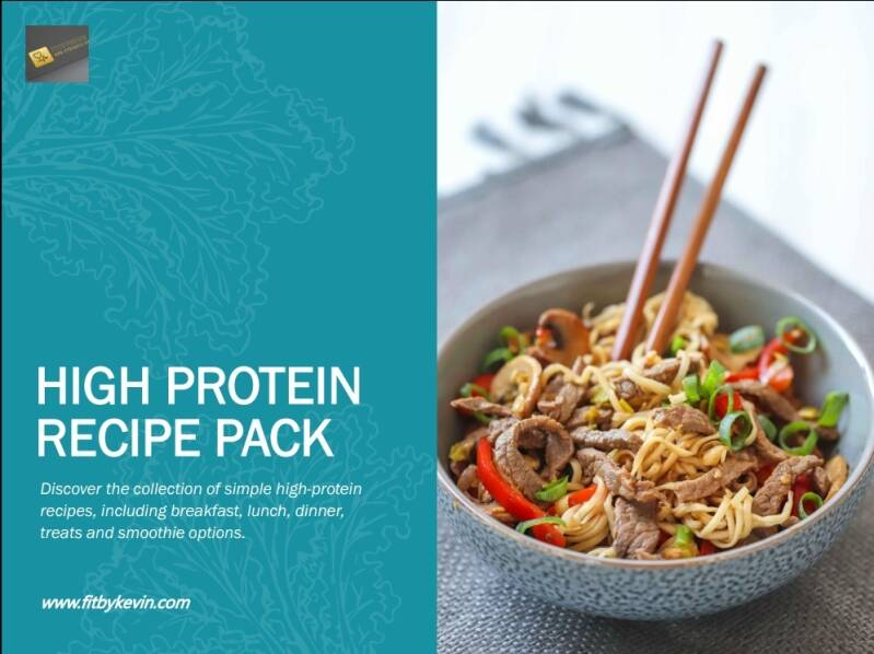 High protein pack