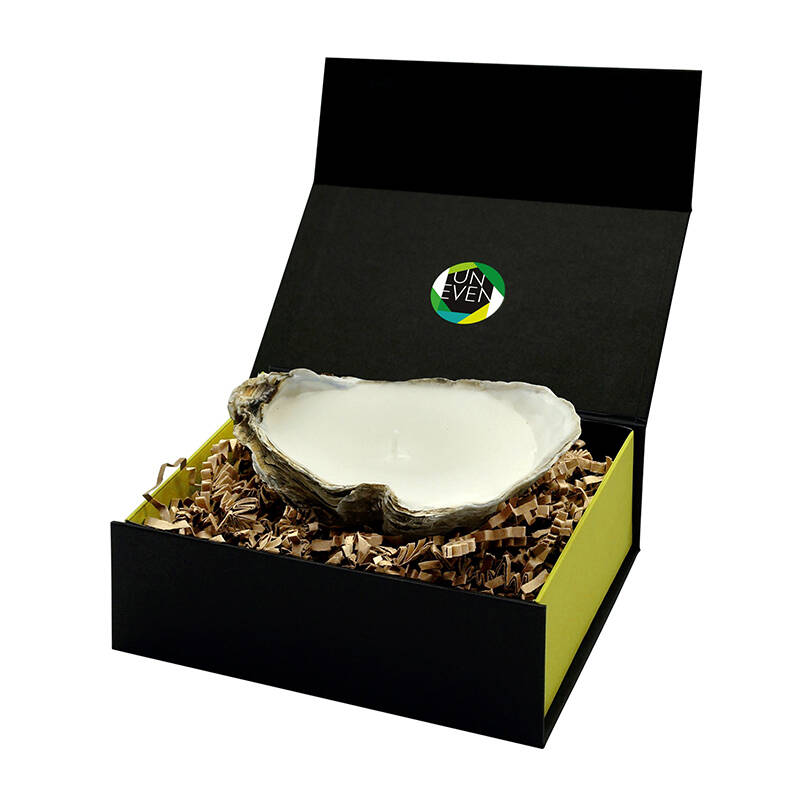 Small Box 1 Oyster Candle - Uneven