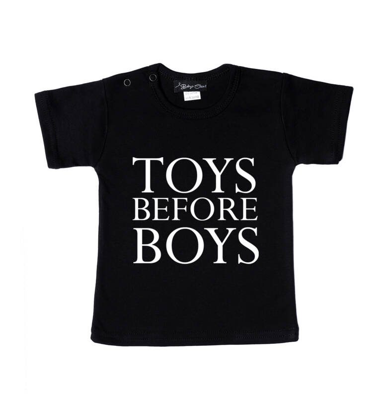 Toys before boys t-shirt