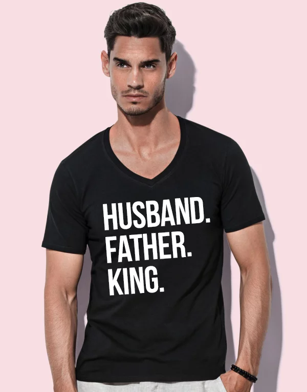 husband, father, king