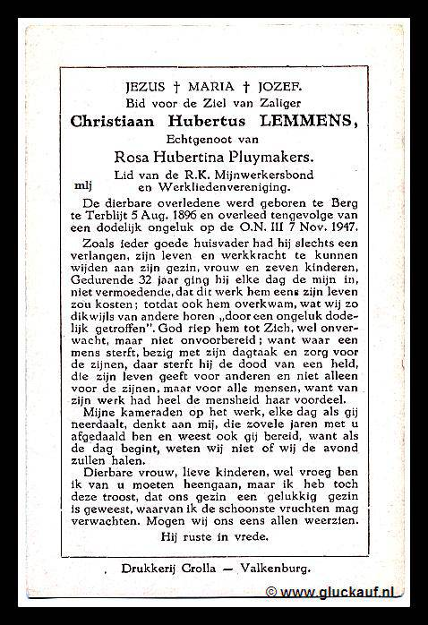 ON3Bidprent58ChristiaanHubertusLemmens7november1947ON3Abmp.jpg