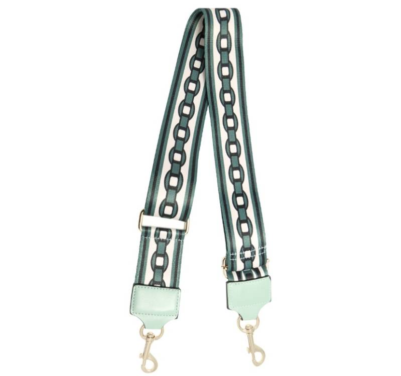 Bag strap - chain mint