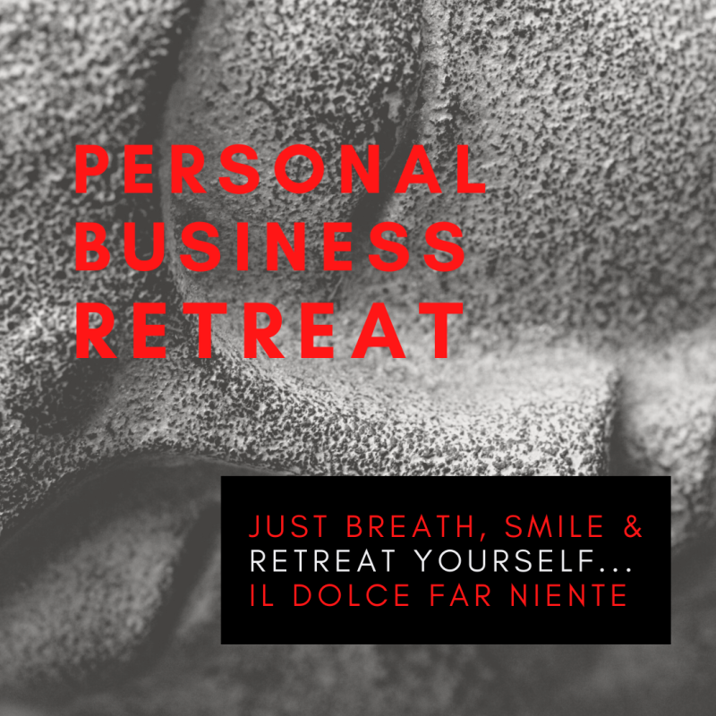 Personal Business Retreat (try out)