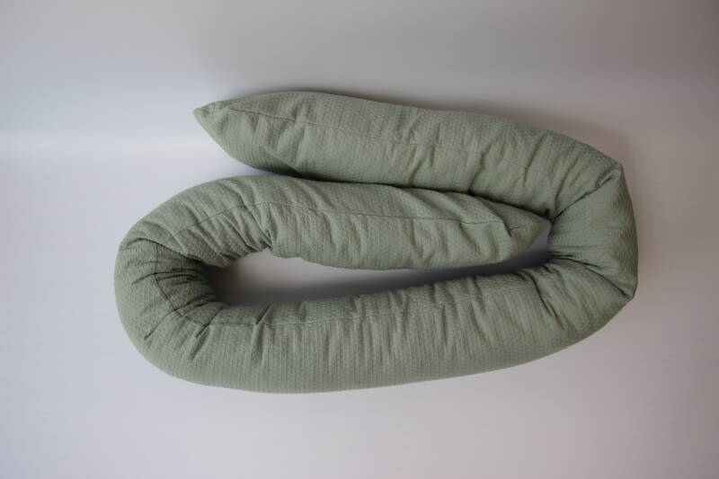 Bett & Kinderwagenschlange Dusty mint