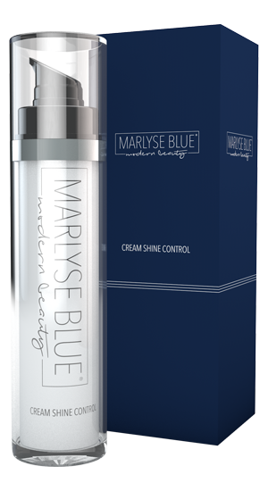 Marlyse Blue Cream Shine Control