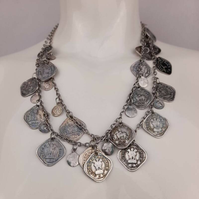 Bijoux just a touch Ketting Coins