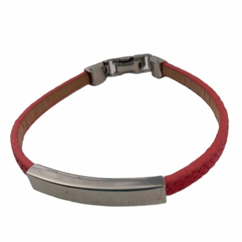 Smalle armband rood