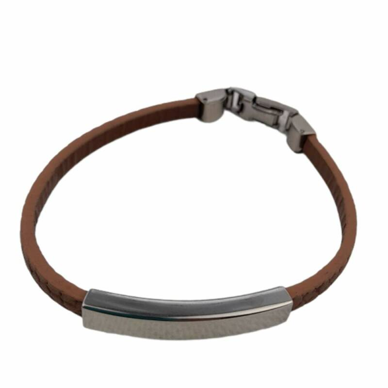 Smalle armband taupe