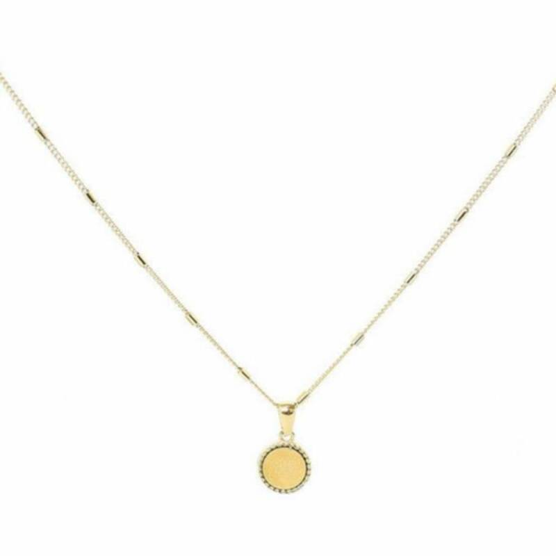 Stainless steel ketting - Create your own sunshine Goud