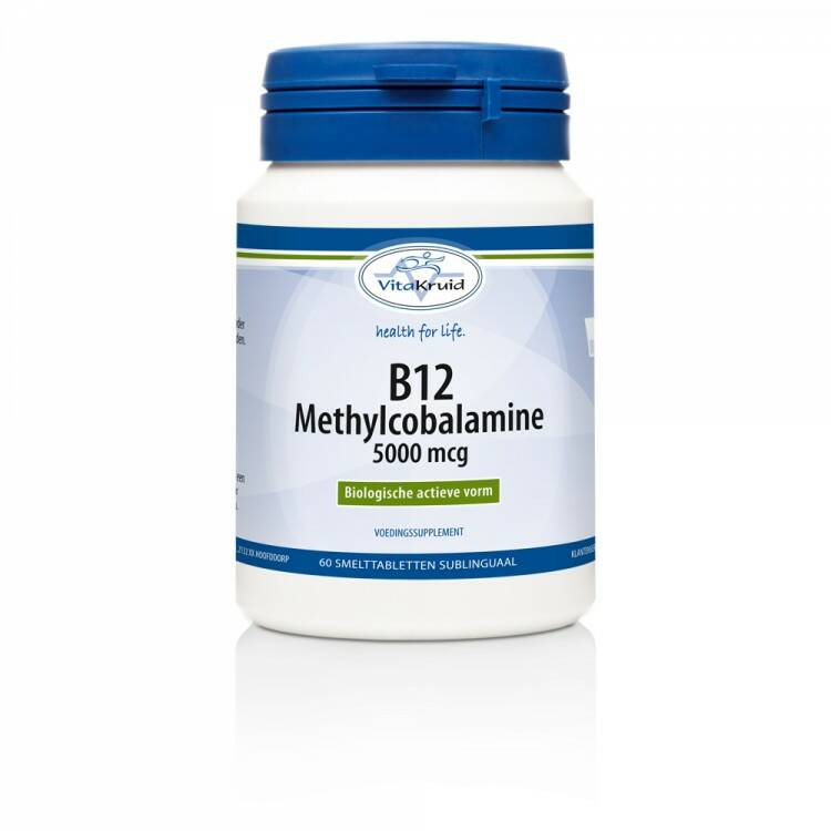 B12 Methylcobalamine 5000µg