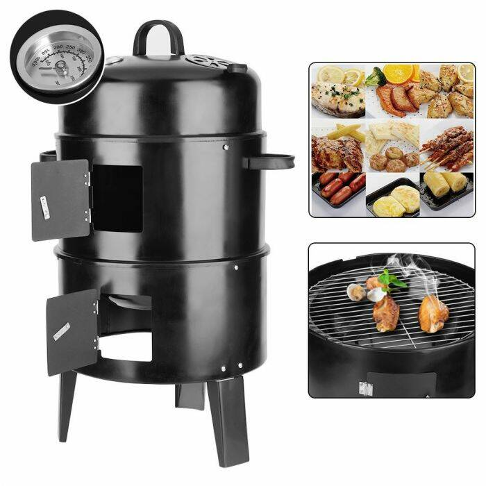 BBQ smoker 3 in 1 grill HOP1000822