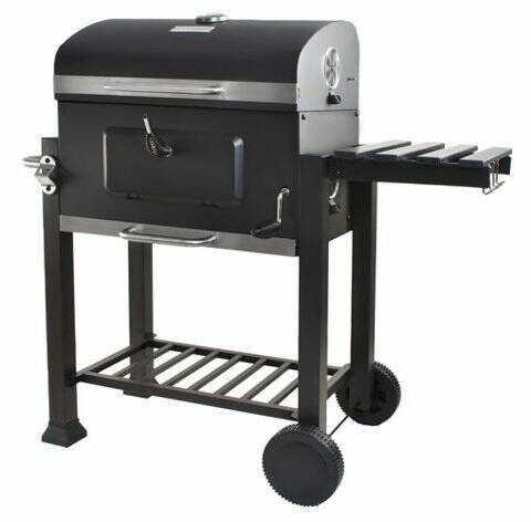 Barbecue trolly 114x57cm met thermostaat en regelaar