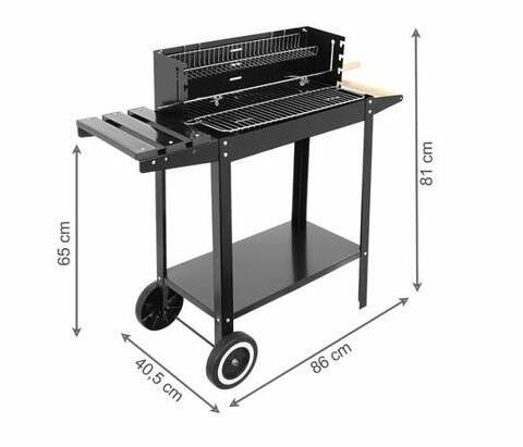 Barbecue trolly 86x41cm eu 39,-