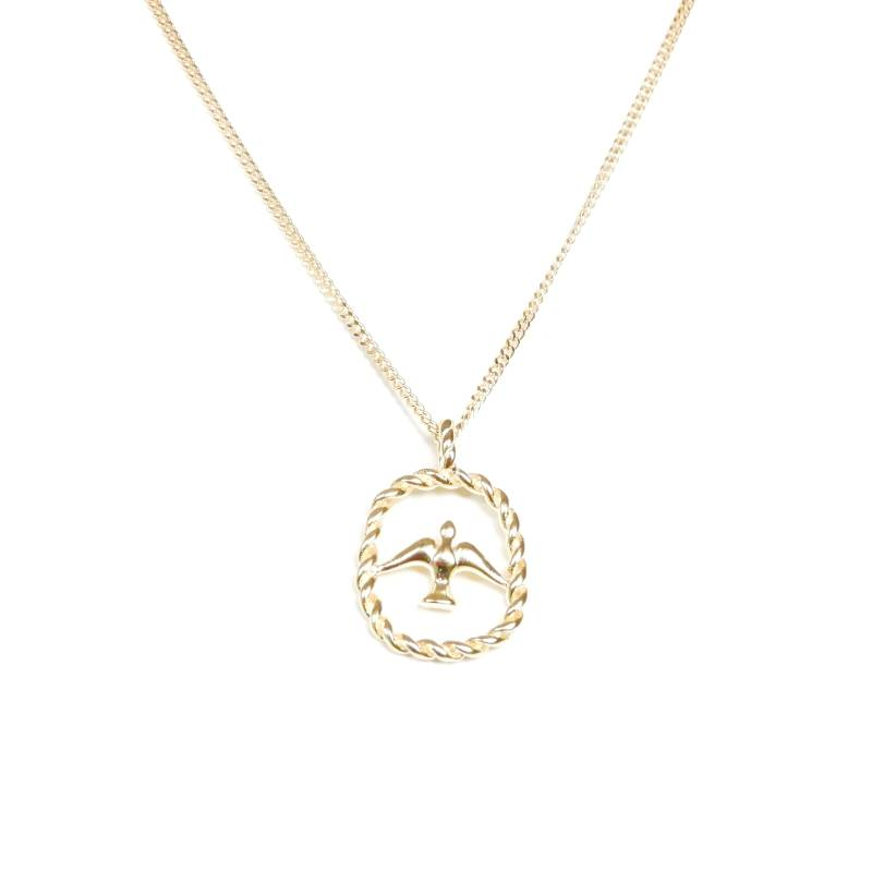 Ketting - swallow gold