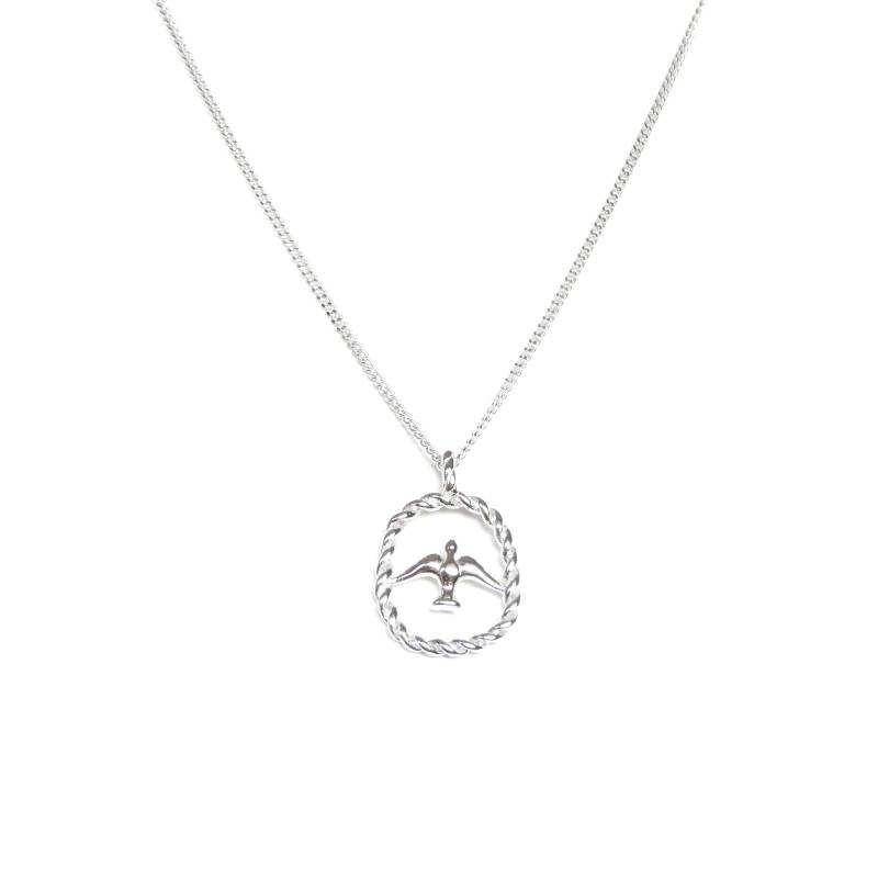 Ketting - swallow silver