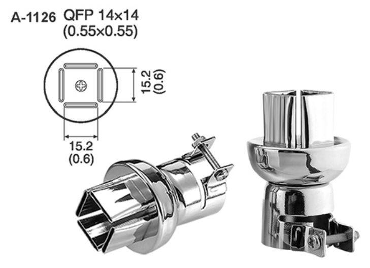 ATTEN A-1126 Hot Air Nozzle