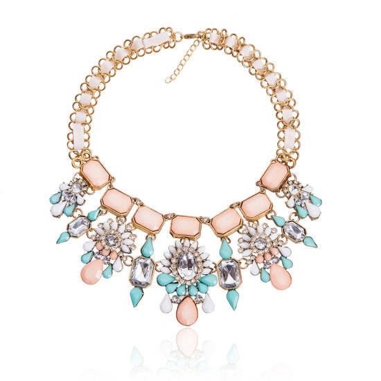 Dames Strass Ketting - T 4004