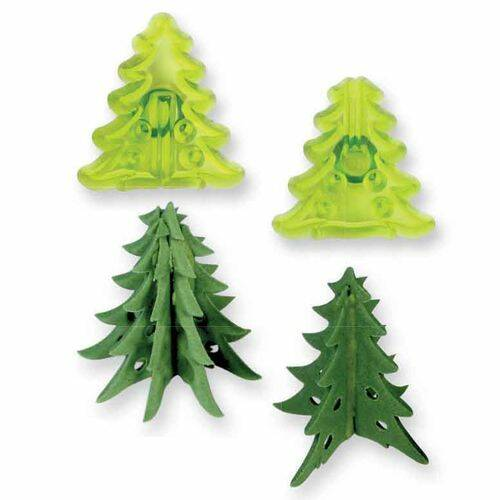 JEM Small 3D Christmas Trees Cutter