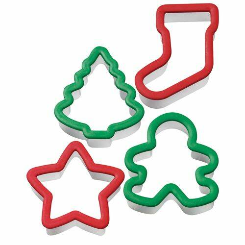 Wilton Grippy Cutter Christmas Set