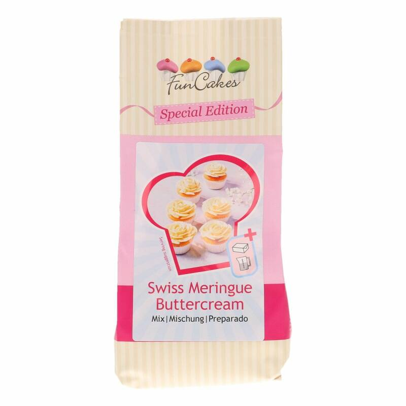 Swiss Meringue Buttercream Mix 400 Gram