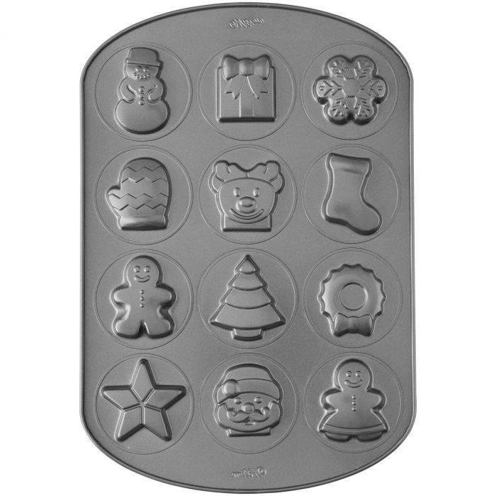 Wilton Cookie Pan Kerst