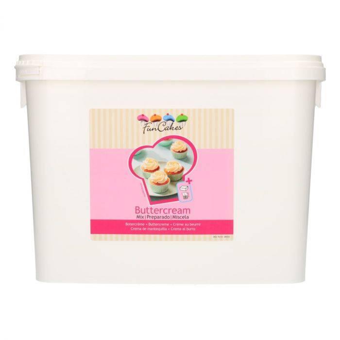 Botercreme Mix 4,5 Kilo