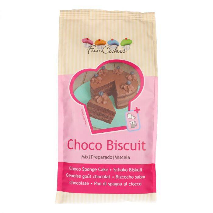 Chocolade Biscuit Mix 1 Kilo