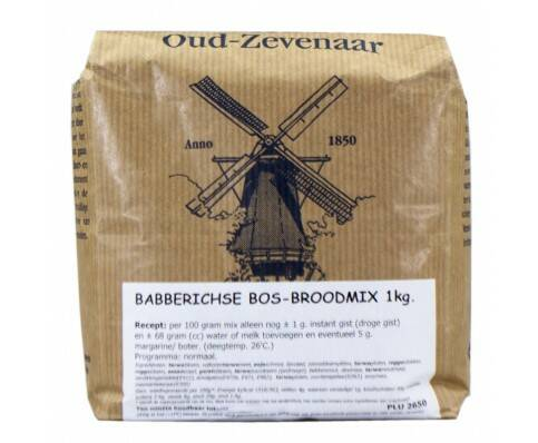 Babberichse Bos Broodmix 1 Kilo