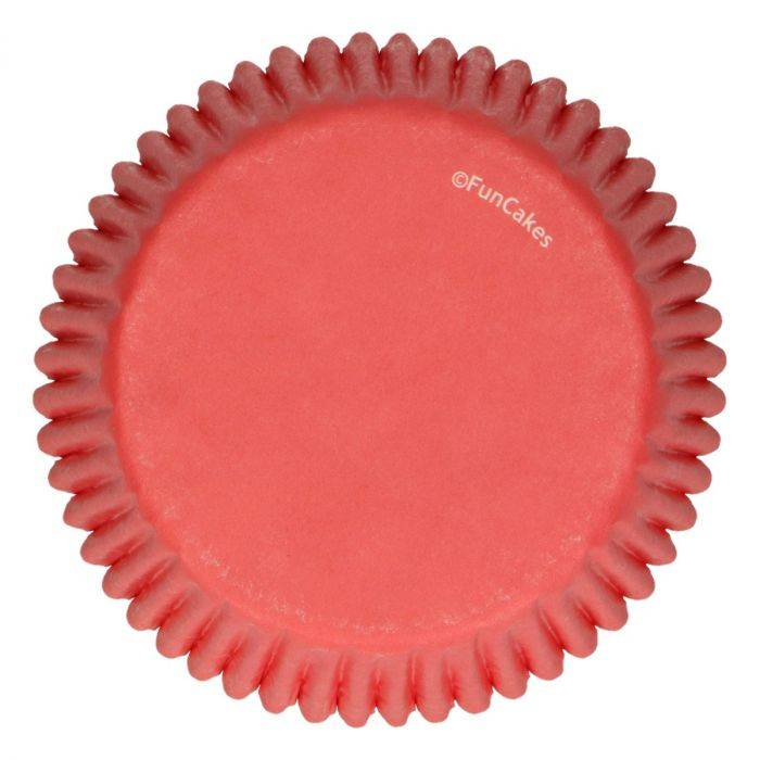 Funcakes Baking Cups Rood