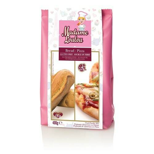 Brood & Pizza Mix Glutenvrij  400 Gram