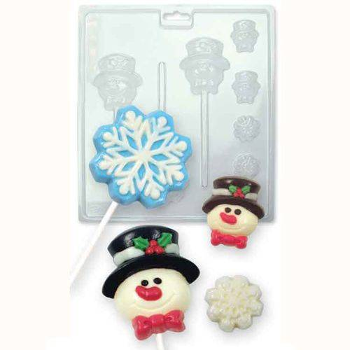 PME Candy & Chocolate Mold Winter Snow