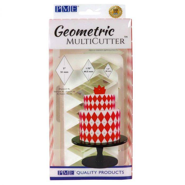 PME Geometric Multicutter Diamond XL Set 3