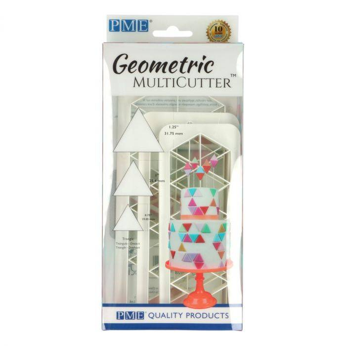 PME Geometric Multicutter Triangle Set