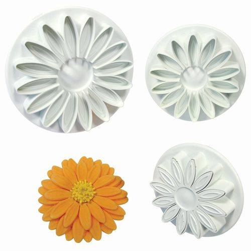 PME Sunflower/Daisy/Gerbera Plunger Cutter Set