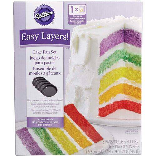 Wilton Cake Pan Easy Layers Rond 15 cm